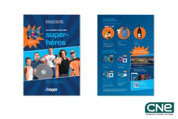 LE RENDEZ VOUS DES SUPER-HEROS - HAGER CNE